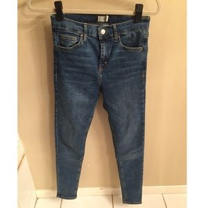 Topshop high waisted Jamie jeans